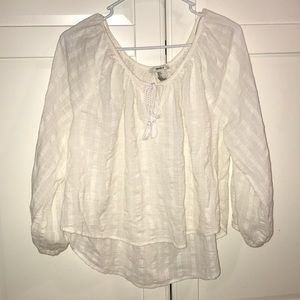 White shirt. Forever 21! Size small!